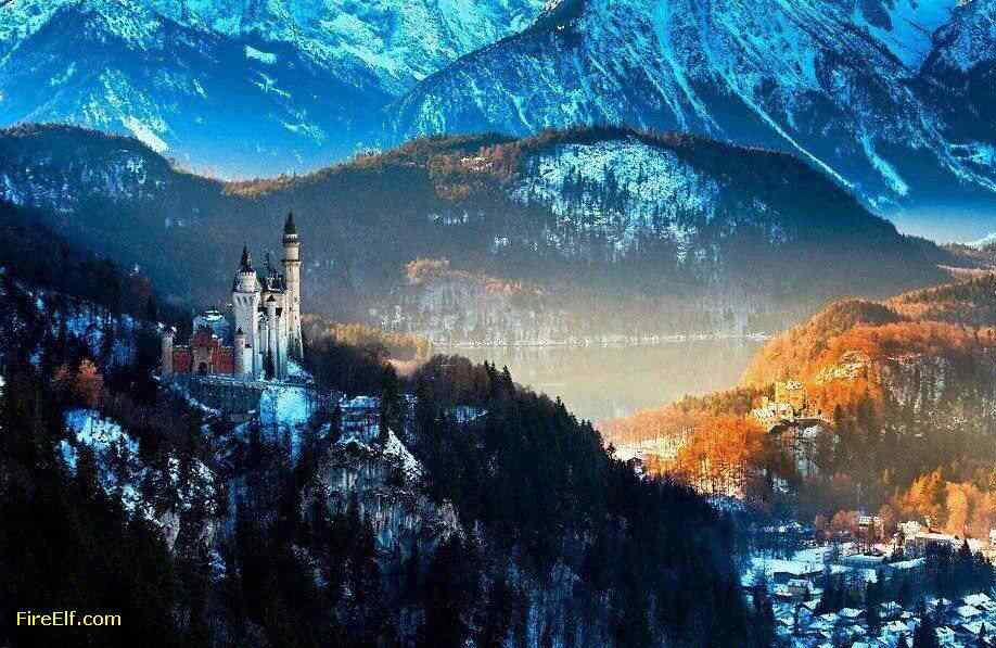 Neuschwanstein-Castle--Germany-