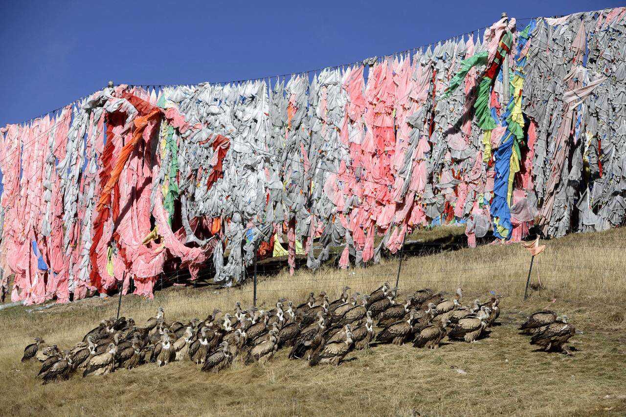 0 ef769 40d83e4c orig Sepultamento celestial no Tibete (AVISO: não recomendado para pessoas impressionáveis)