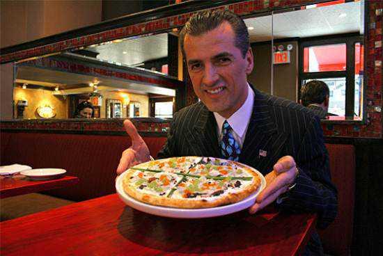 A pizza de U$ 1000