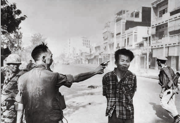 Esta foto foi ganhadora dos prêmio  Prêmio Pulitzer de Fotografia em 1969 e World Press Photo no mesmo ano.