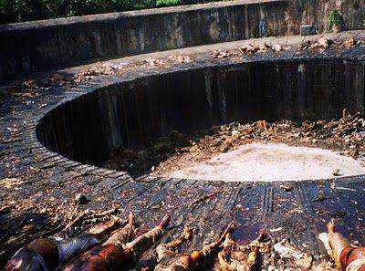 Torre del silencio en la India 2 A macabra torre do silêncio