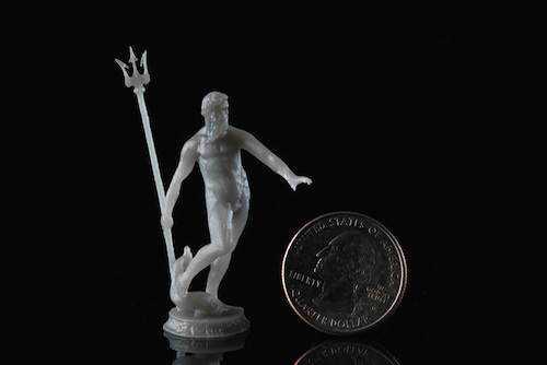 neptune black low res Impressão 3d: Artista cria esculturas com a dimensão de um espermatozóide!