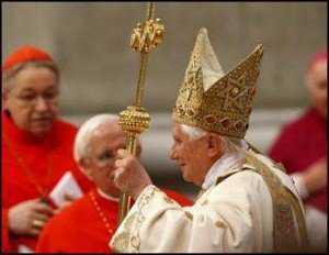 O chepéu do papa