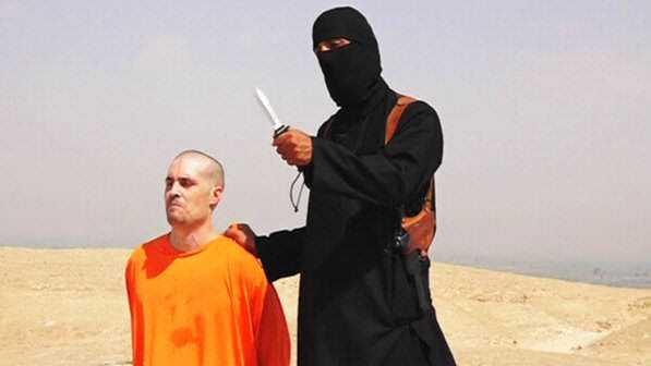 Video divulgado pelo Estado Islamico EI mostra terrorista decapitando o jornalista americano James Foley size 598 A morte pelos mil cortes