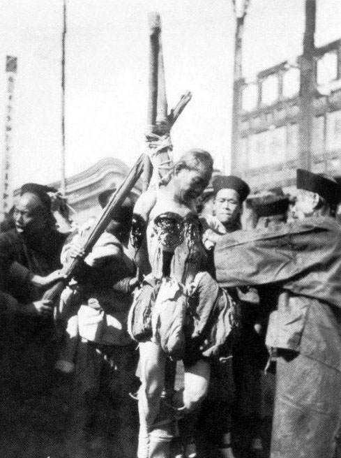 lingchi woman 4 A morte pelos mil cortes