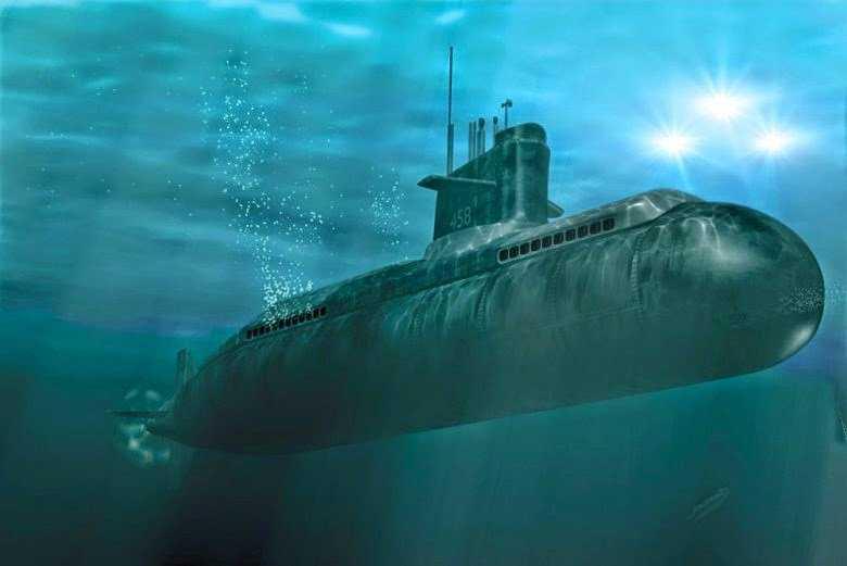 Vários submarinos registraram o Quacker