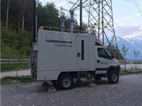 Signal Jammer truck