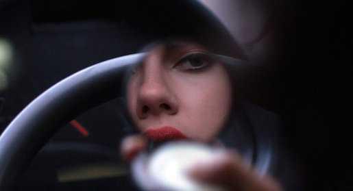 Cinema, efeito globular e Scarlet Johansson peladinha