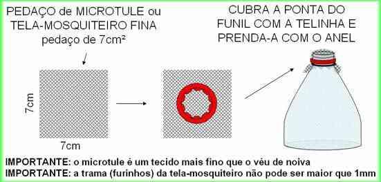Armadilha para mosquito da dengue com garrafa Pet 4 Pernilongo: O maior desafio do mundo