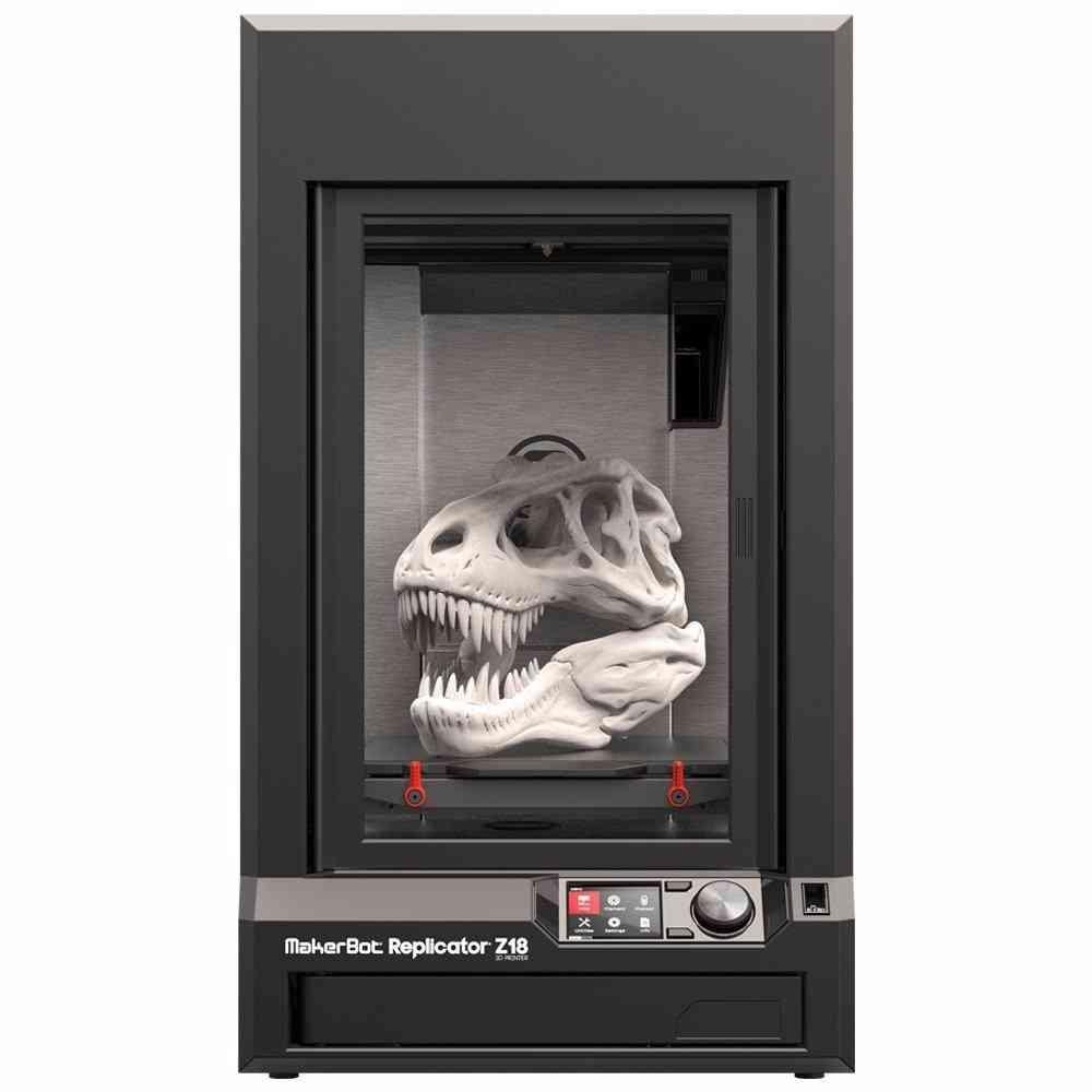 Um exemplo de impressora 3d de prateleira são as Makerbots