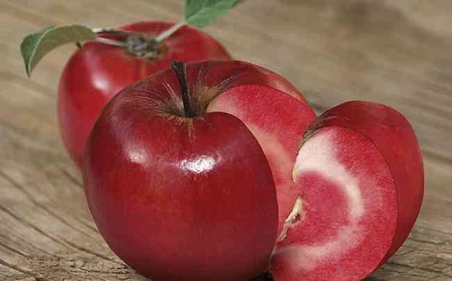A maçã mais bizarra que você já viu