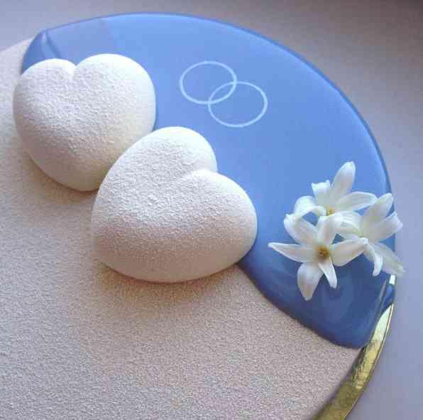 olgabolo3 As incríveis sobremesas marmorizadas de Olga Noskova