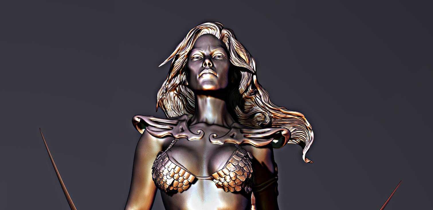 Red Sonja - Mais uma escultura