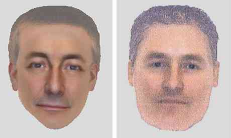 Undated e-fit images of a man seen in Praia da Luz at the time of Madeleine McCann's disappearance