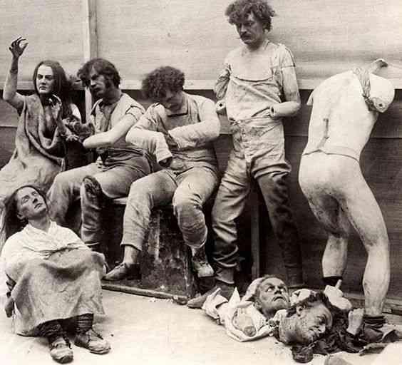 Conheça o bizarro cemitério dos manequins