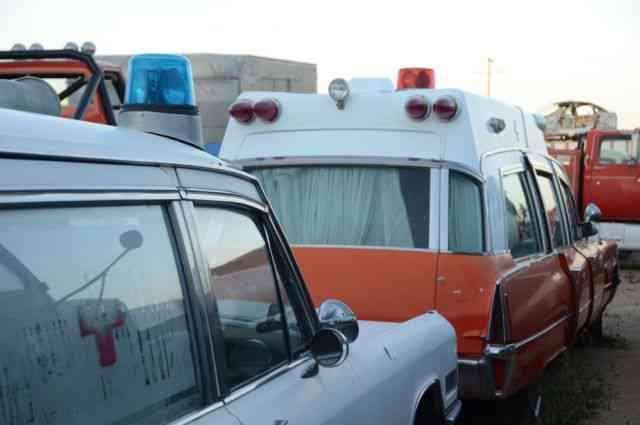 ambulance graveyard mojave desert california 6 Cemiterios esquisitos