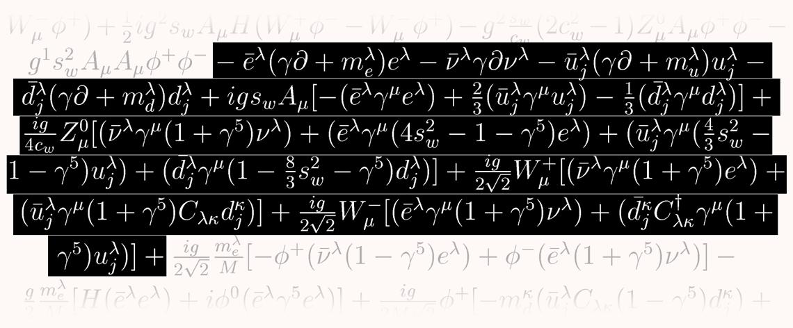 A equação mestra do Universo