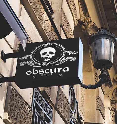 A Obscura Shop esta oficialmente aberta