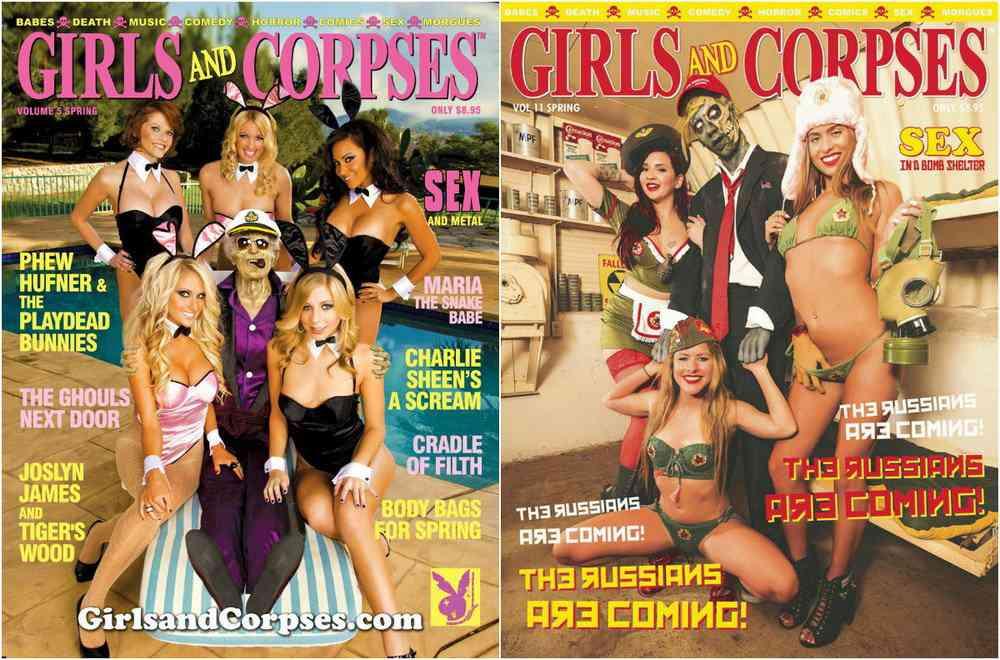 Nicho é tudo: Revista de fotos eróticas com zumbis faz sucesso