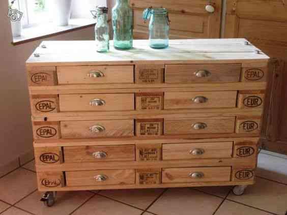 Ideias sensacionais para fazer com pallets e caixas de madeira velha