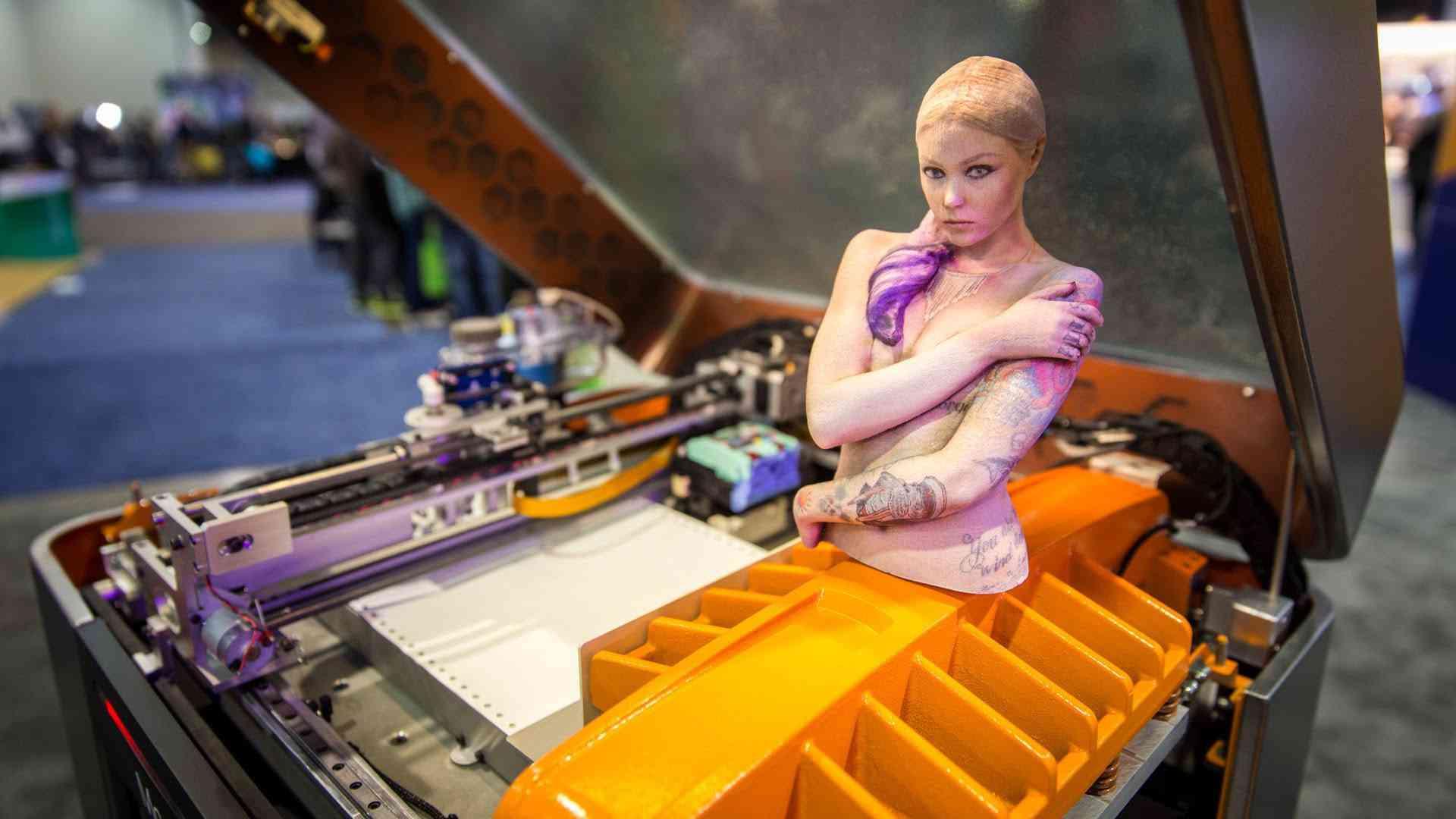 Impressão 3d colorida: A nova fronteira da impressão 3d