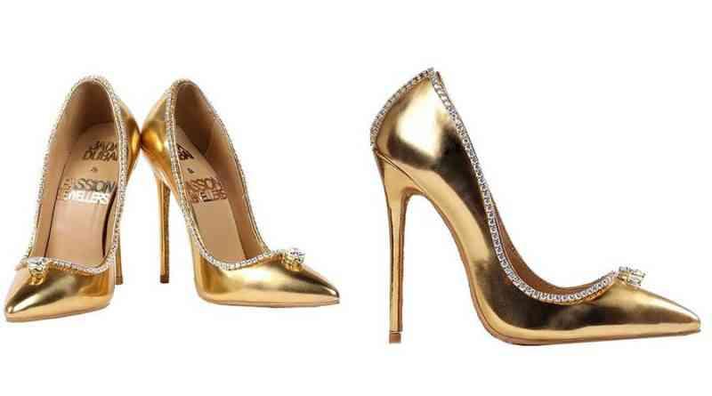 Pensa num sapato caro? Não é esse.