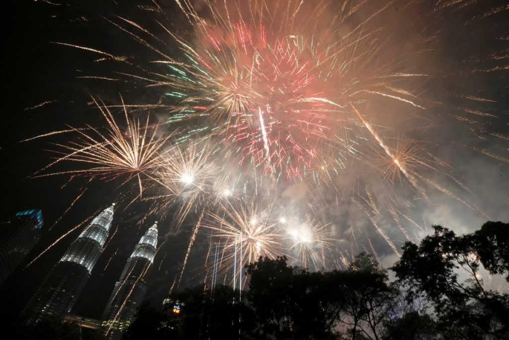 Ano novo pelo mundo