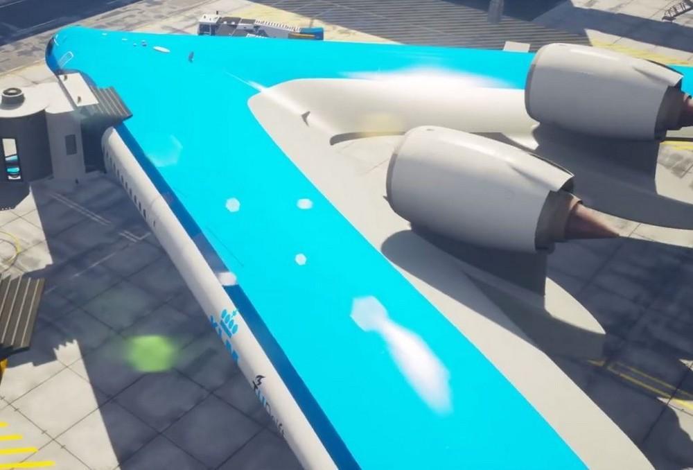 Conheça o V-Flying, o avião que pode revolucionar a aviação comercial em breve