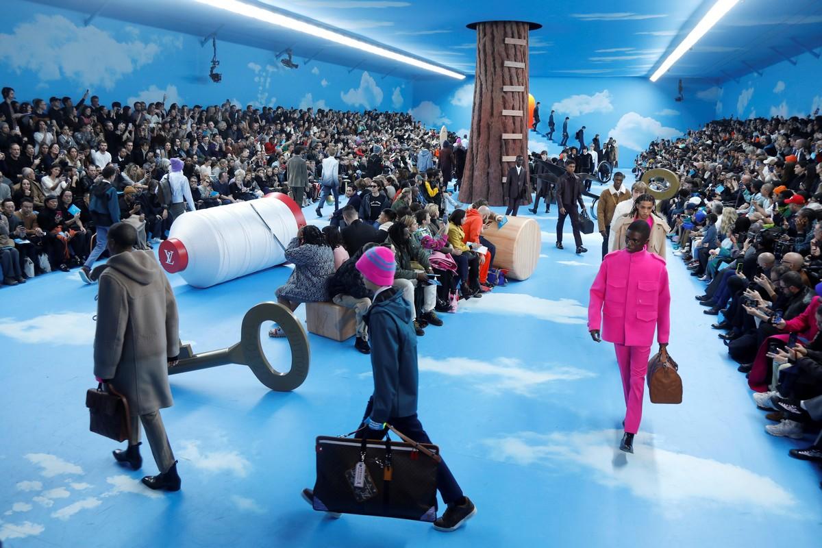 Festa da marmota: Um show de vestuário masculino na semana da moda de Paris