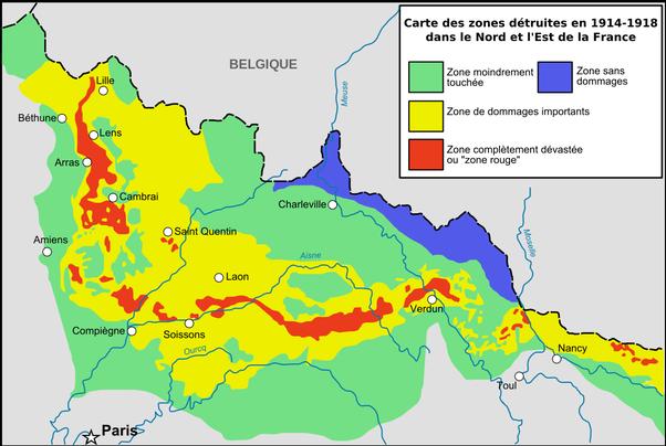 A zona vermelha da França: Um lugar onde não se pode entrar há mais de cem anos!