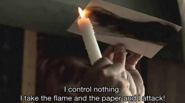 Pintando com fogo