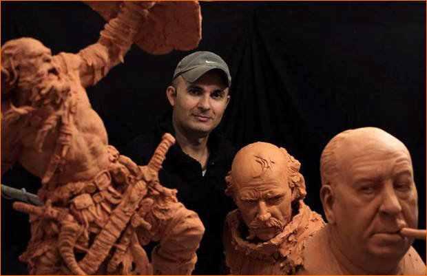 Dez escultores para os quais eu tiro meu chapéu