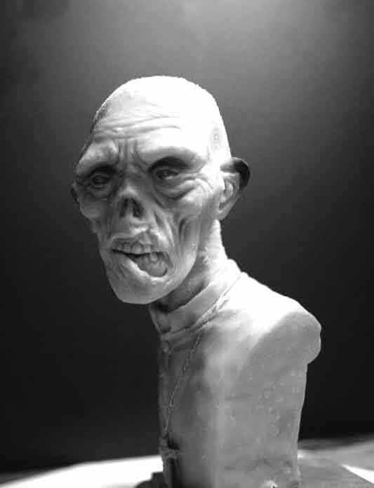 Padre zumbi - Parte 1 - Escultura