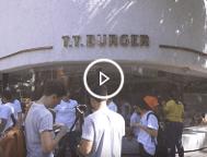 Botão com o vídeo da 13ª edição do MuTTirão