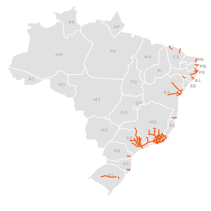 Ferrovias mapa 1890