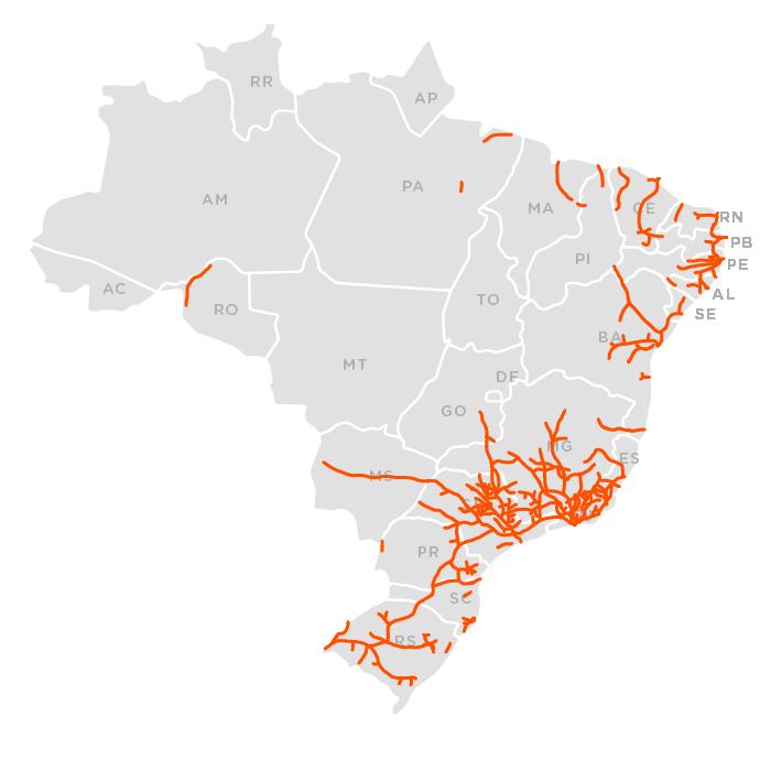 Ferrovias mapa 1930