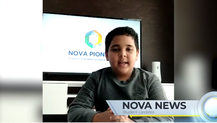 Creative, fun 'news' broadcasts from our pre-primary and primary school students