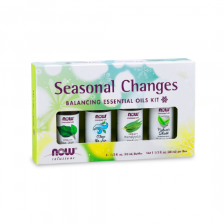 Kit de Óleos Essenciais Seasonal Changes NOW 40ml