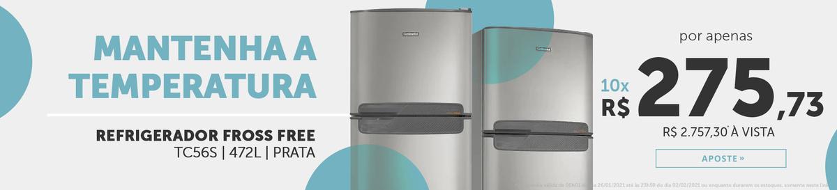 Refrigerador Continental em Oferta