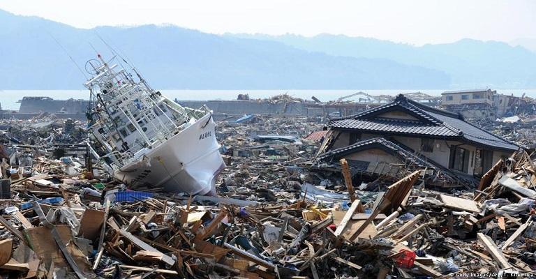 Mudanças climáticas devem os intensificar os tsunamis