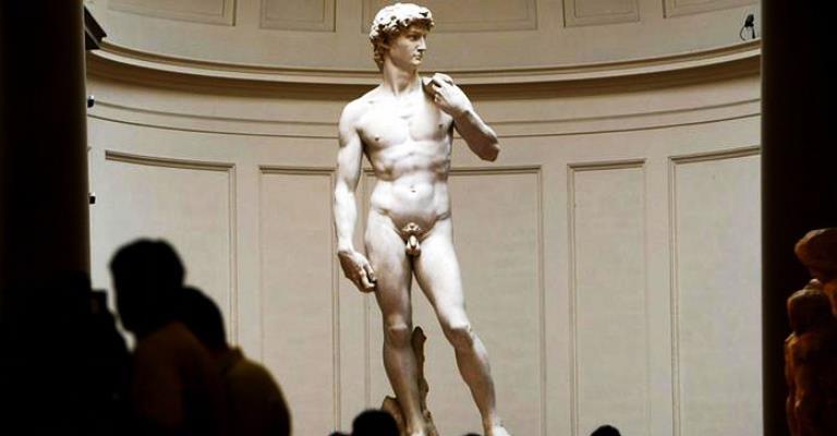 A nudez através da arte