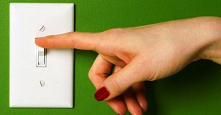 Economizar energia é questão de hábito