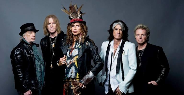 Aerosmith anuncia show em BH em18 de setembro