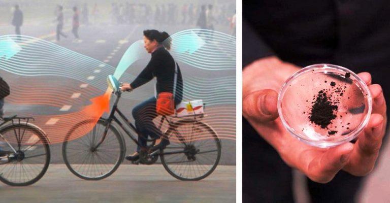 Pedale sua bike e purifique o ar!