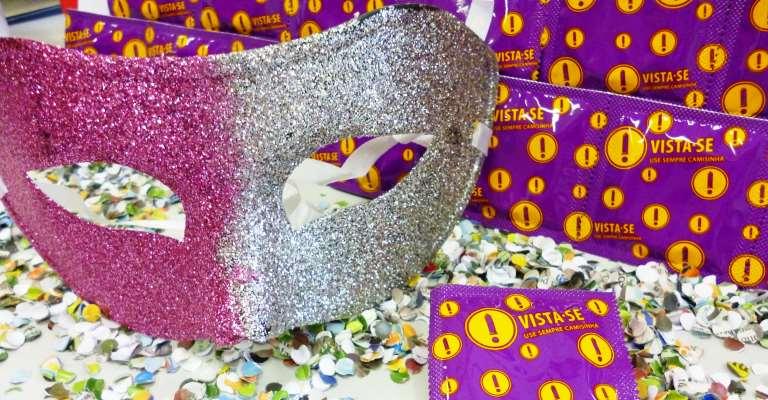 Ministério distribuirá 77milhões de camisinhas no carnaval