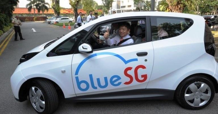 Cingapura lança compartilhamento de carros elétricos