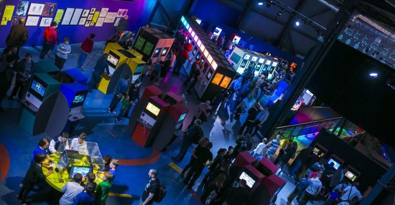 Exposição sobre videogames desembarca no Brasil