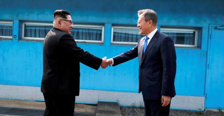 O encontro histórico entre as Coreias