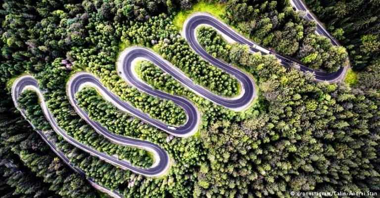 Foto premiada pela National Geographic feita por drone