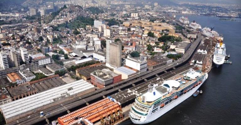 Rio deve receber 14 navios de cruzeiro durante carnaval